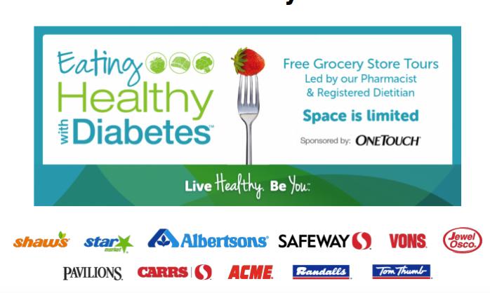 healthy eating diabetes tour