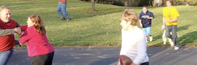 Family, Fun and Fitness for Thanksgiving
