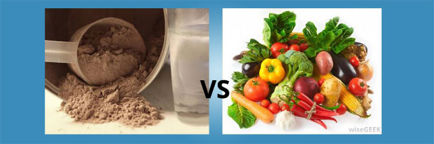 Protein Sources: Supplements Vs. Food