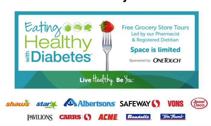 healthy eating diabetes tour