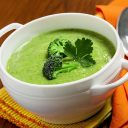 Easy and Healthy Cream of Broccoli Soup