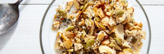 Healthy and Easy Grain-Free Granola
