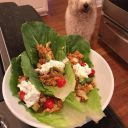 Easy Low-Carb Chicken Lettuce Wraps